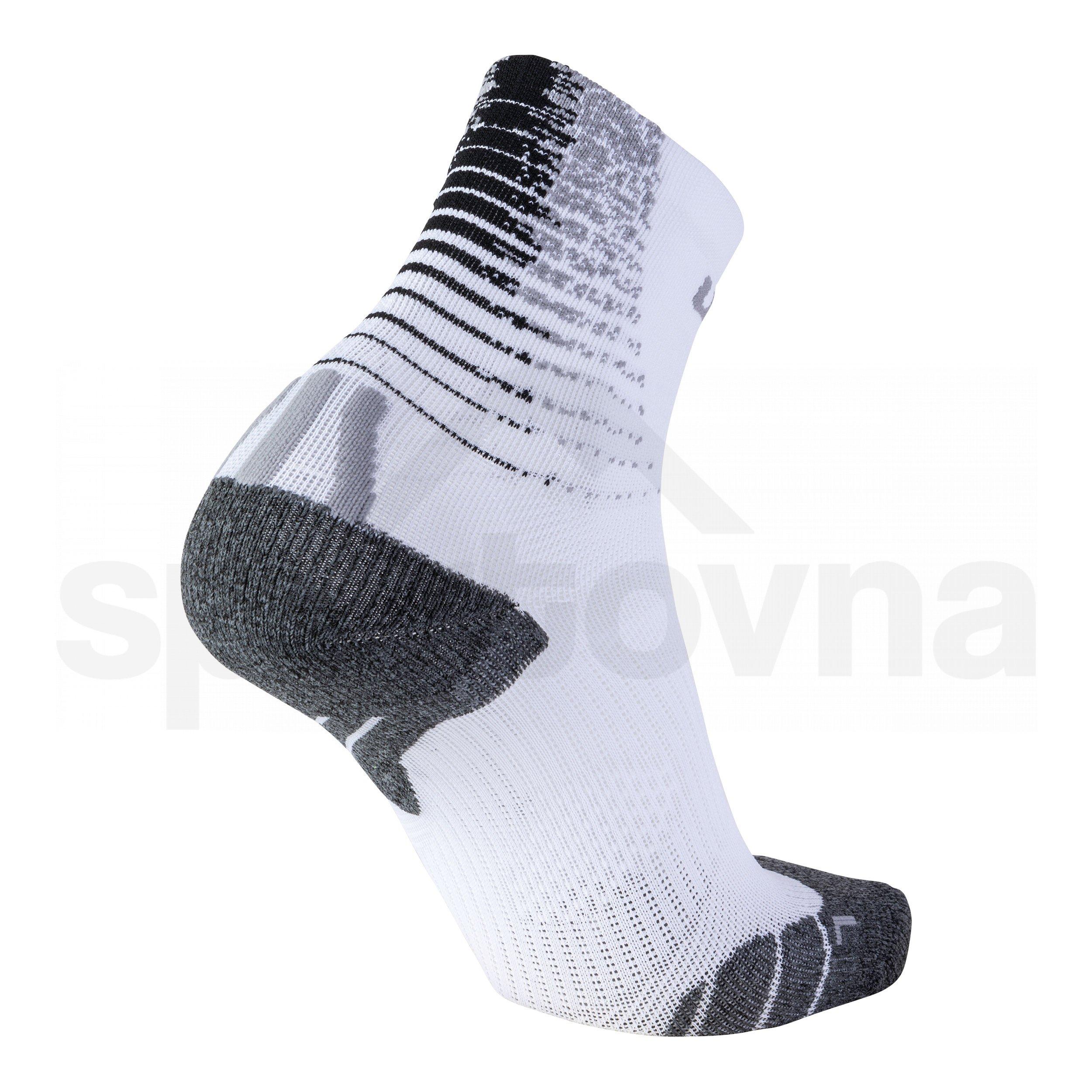Pánské ponožky UYN RUN FIT SOCKS S100137W106 - bílá/černá