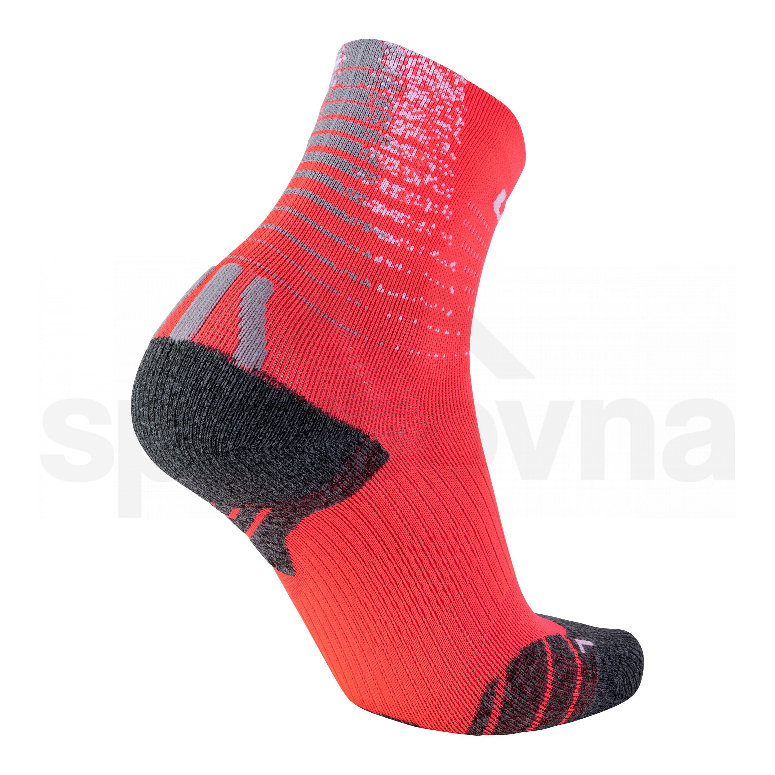 Dámské ponožky UYN RUN FIT SOCKS - červená