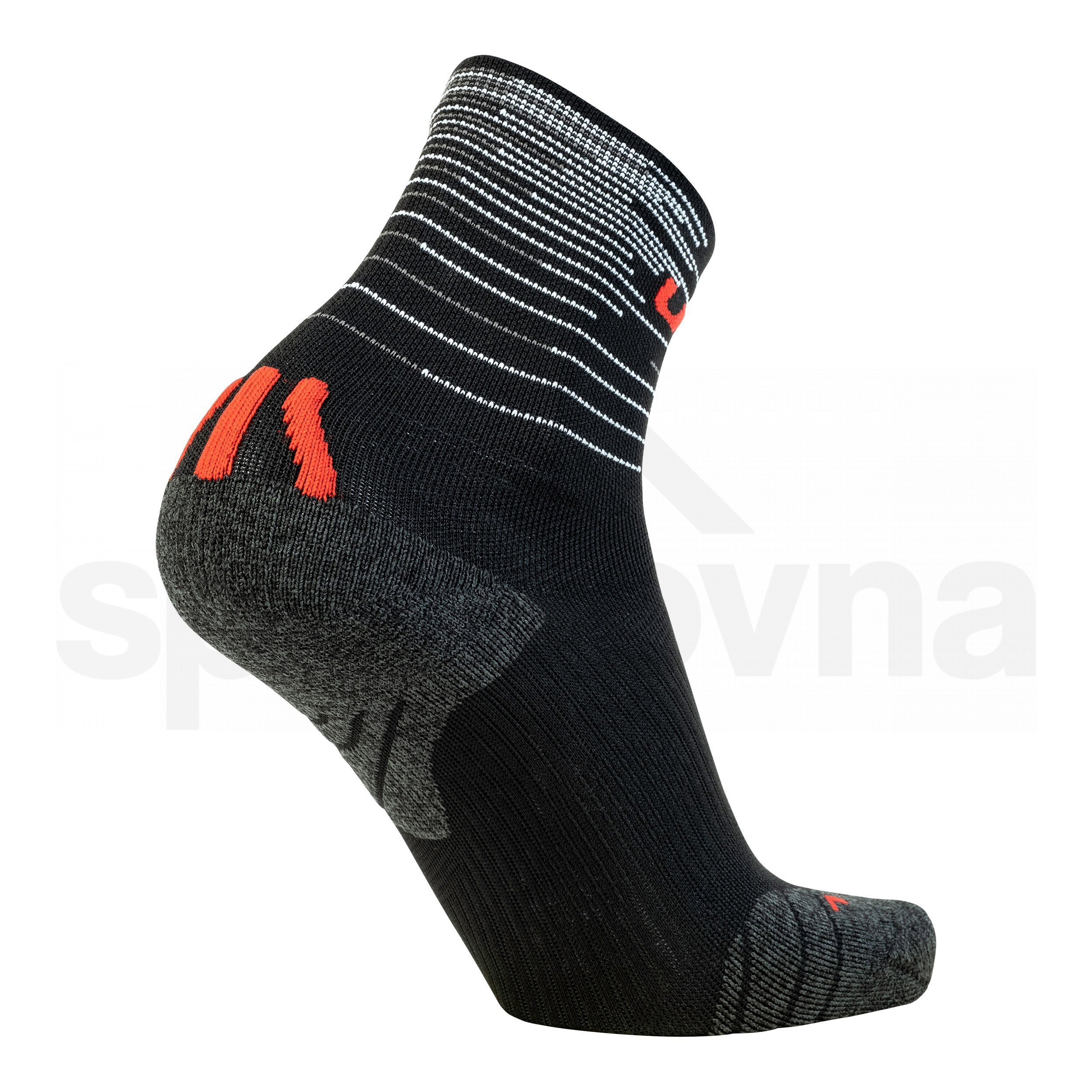 Dámské ponožky UYN FREE RUN SOCKS 2páry - modrá/černá