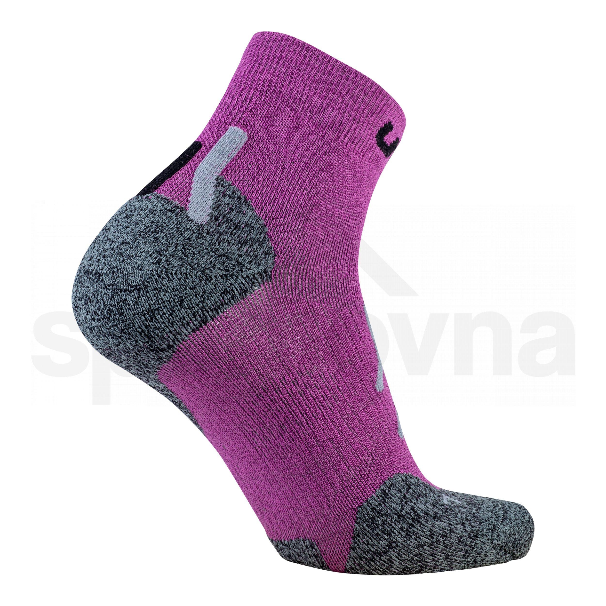 Dámské ponožky UYN TREKKING APPROACH MERINO LOW CUT SOCKS - fialová
