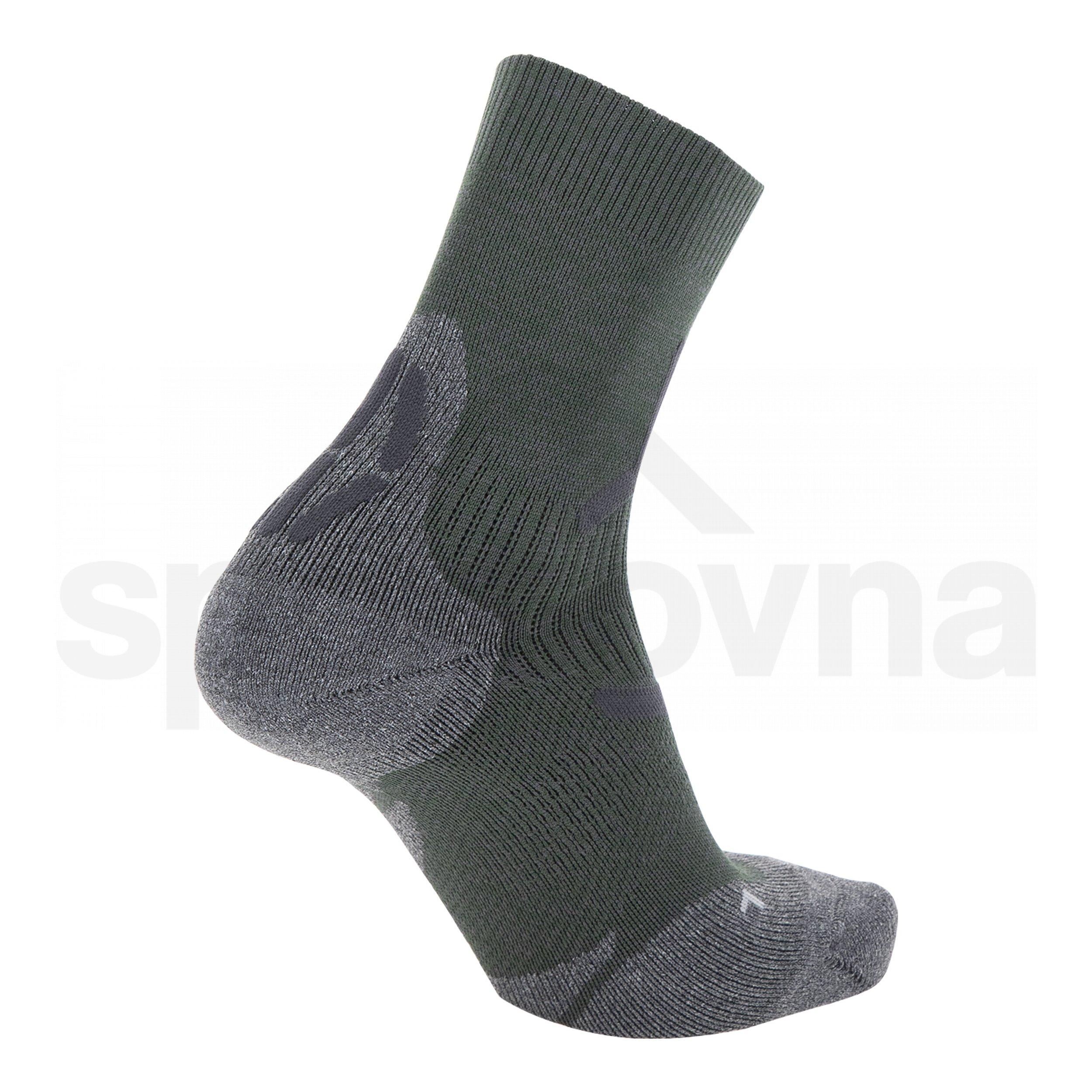 Pánské ponožky UYN TREKKING 2IN SOCKS - zelená