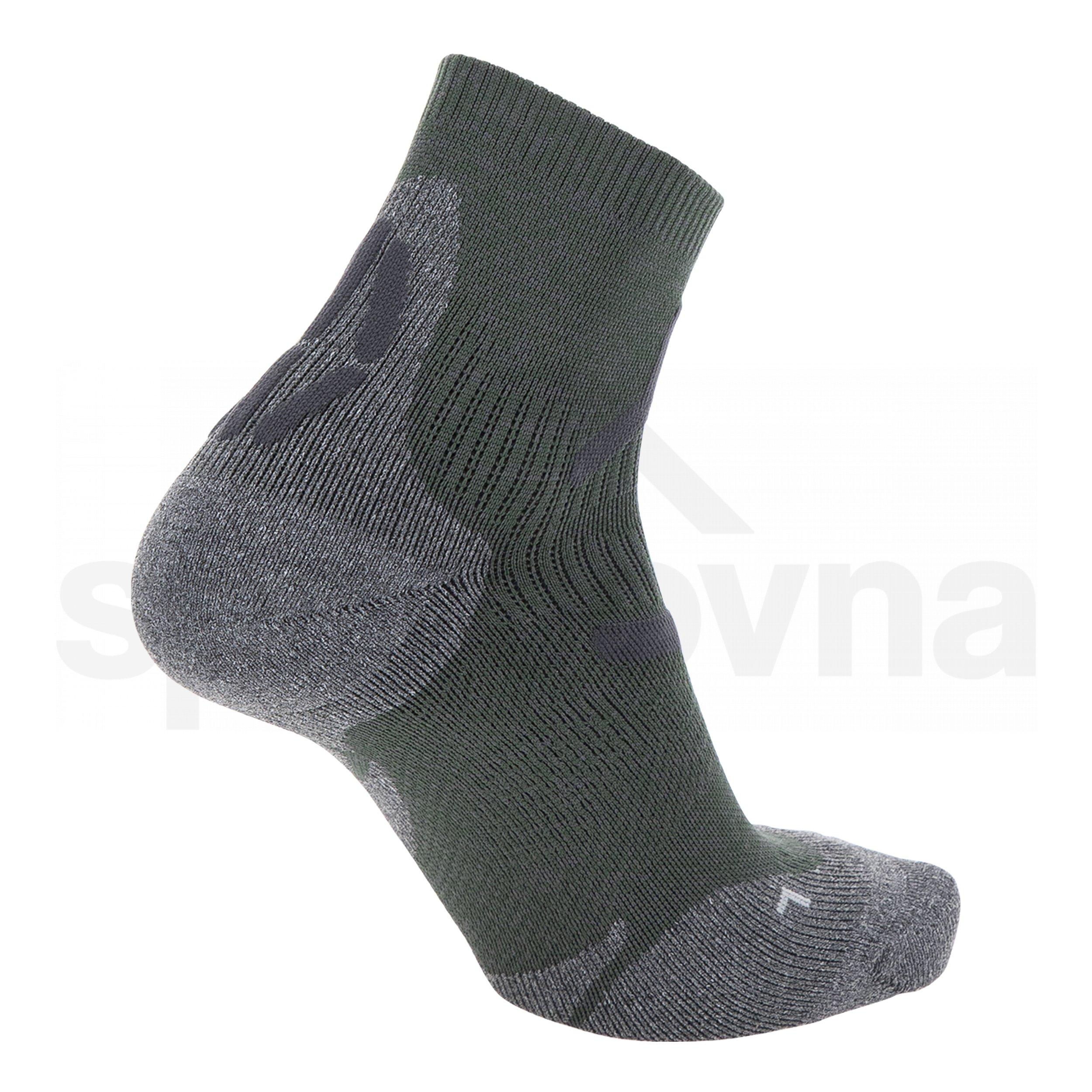 Pánské ponožky UYN TREKKING 2IN LOW CUT SOCKS - zelená
