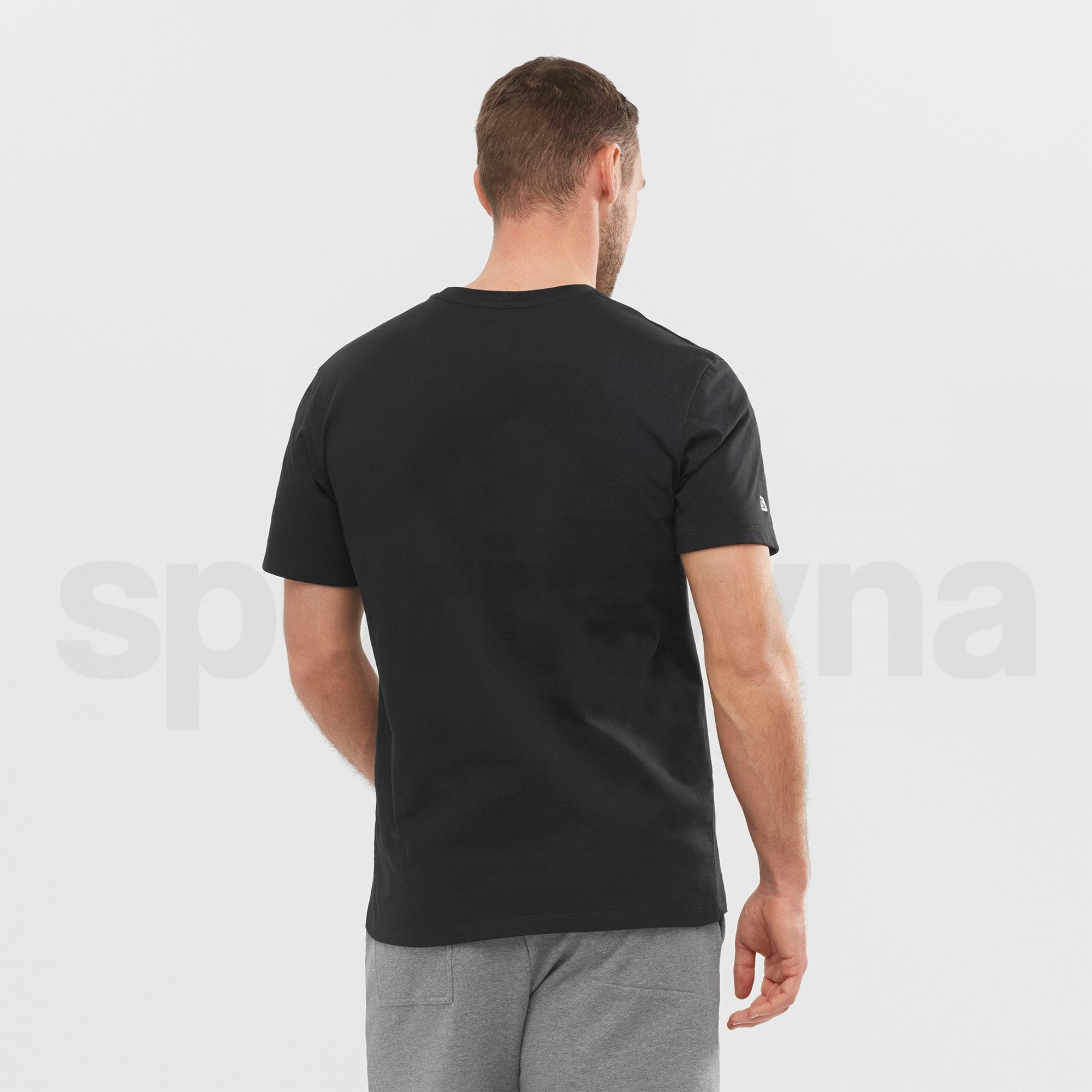 Tričko Salomon OUTLIFE GRAPHIC DISRUPTED M - černá