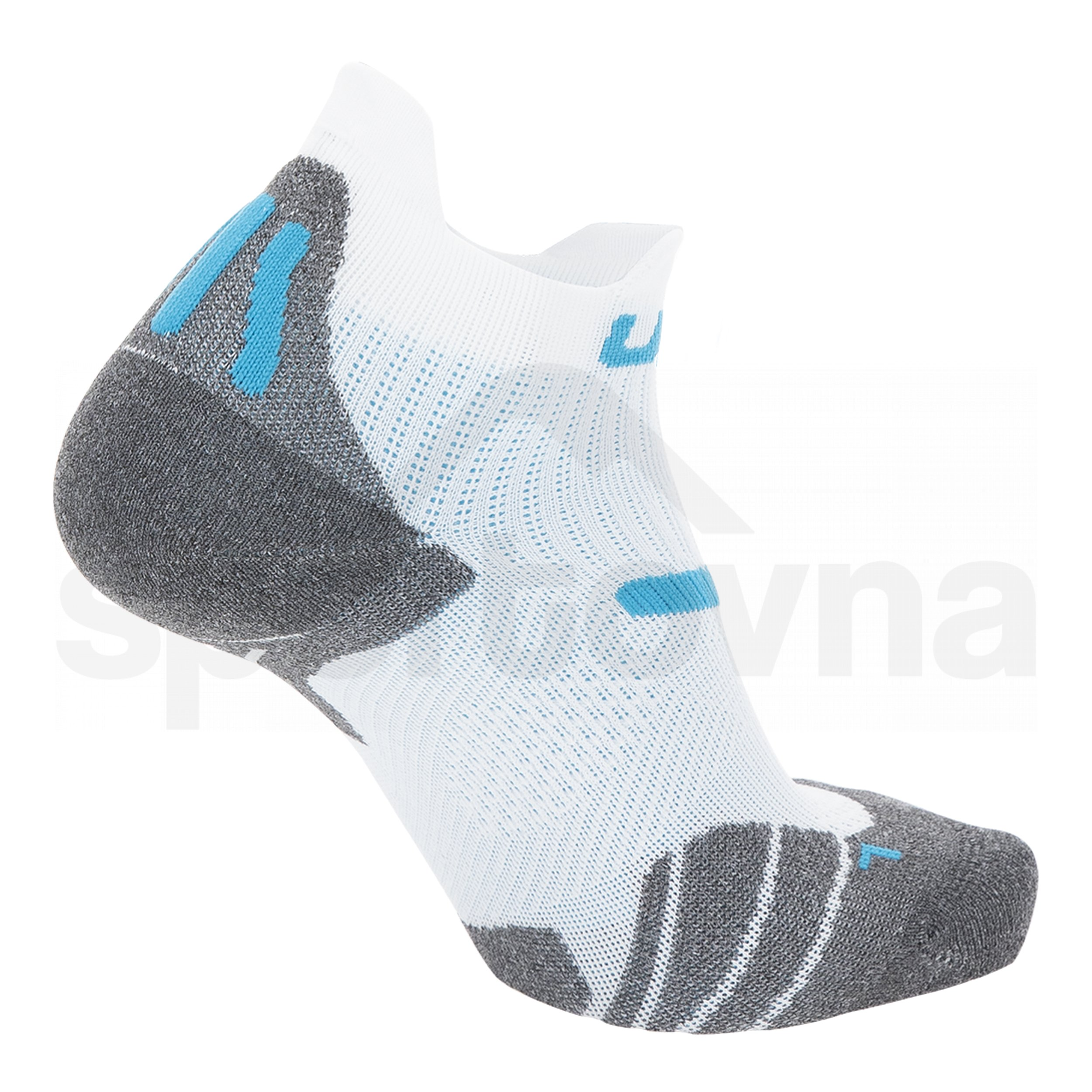 Dámské ponožky UYN RUN 2IN SOCKS - bílá/modrá
