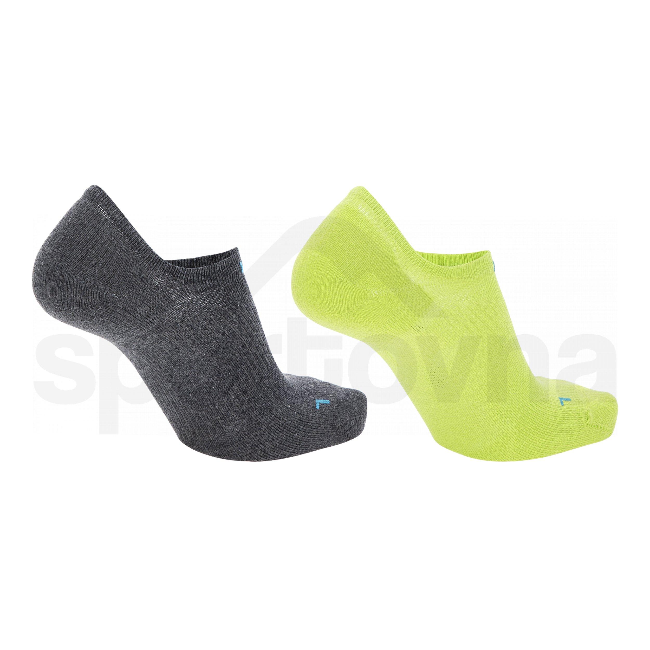 Ponožky UYN SNEAKER 4.0 SOCKS 2 páry - žlutá/černá