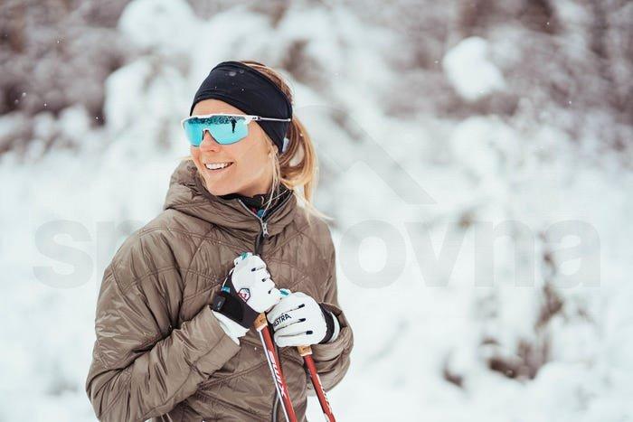 Dámské sportovní sluneční brýle Julbo ULTIMATE SP3 CF - černá bílá