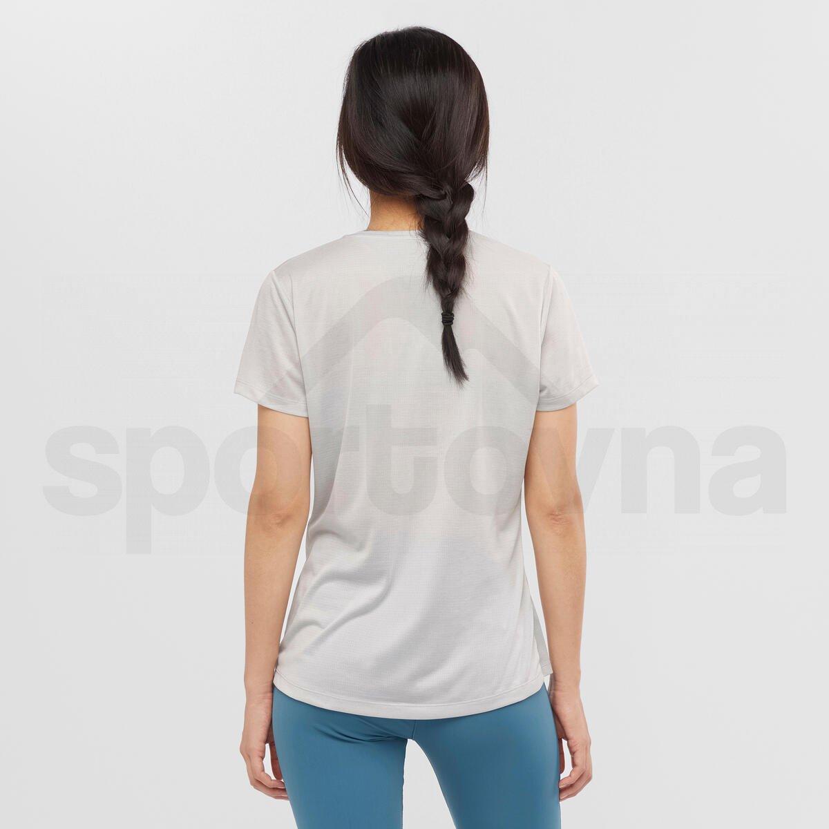 Tričko Salomon AGILE SS TEE W - světle šedá
