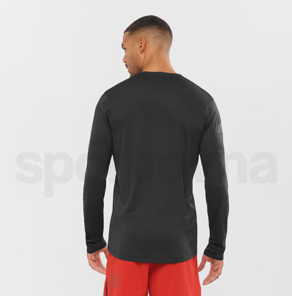Tričko Salomon AGILE LS TEE M - černá