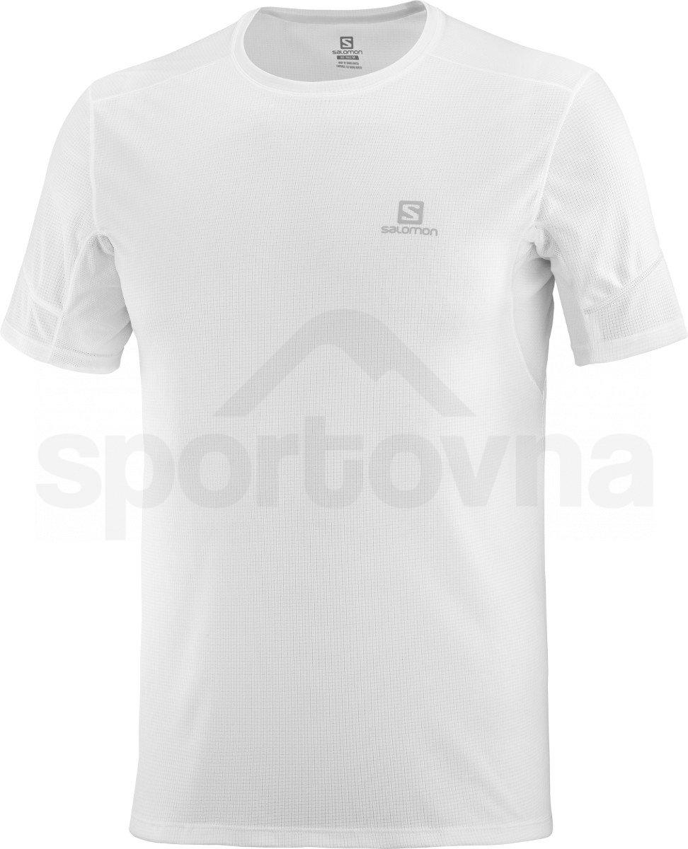 Tričko Salomon AGILE SS TEE M - bílá