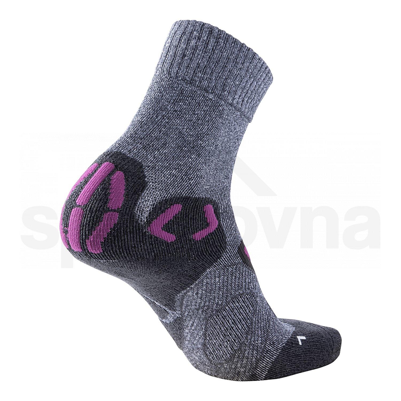 Ponožky UYN OUTDOOR EXPLORER SOCKS W - šedá/fialová