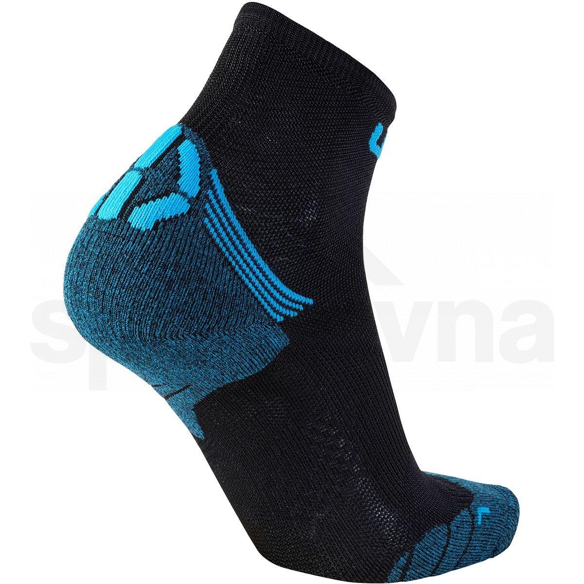 Ponožky UYN RUN SUPERLEGGERA SOCKS M - černá/modrá
