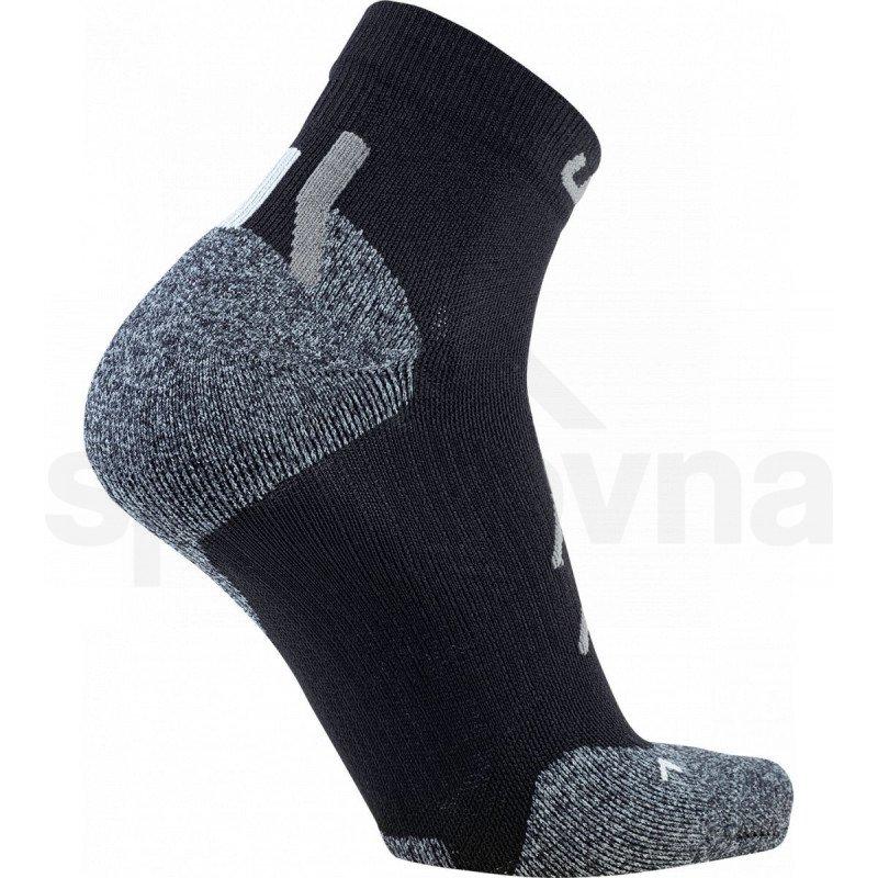 Ponožky UYN Trekking Approach Low Cut Socks M - černá/šedá