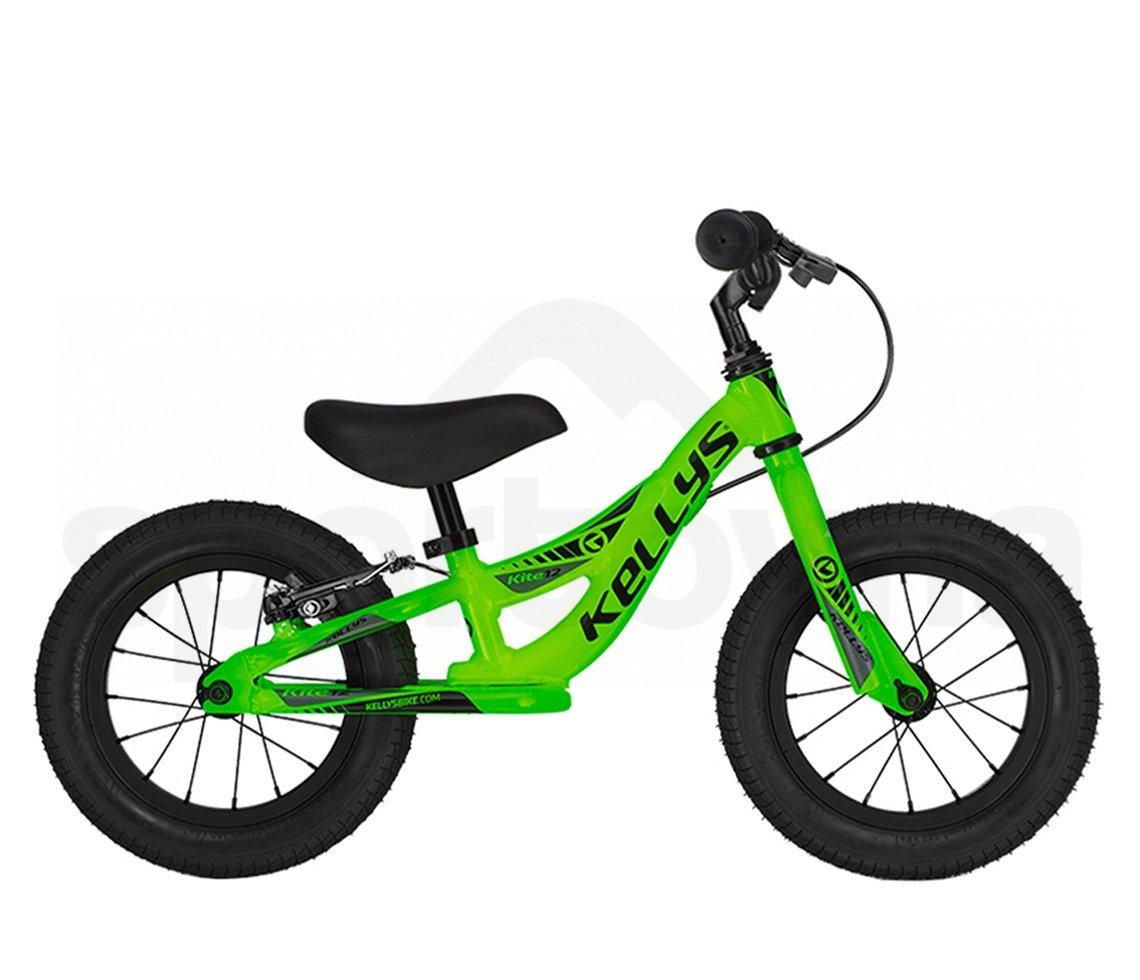 Kellys Odrážedlo Kite 12 Race Neon Green