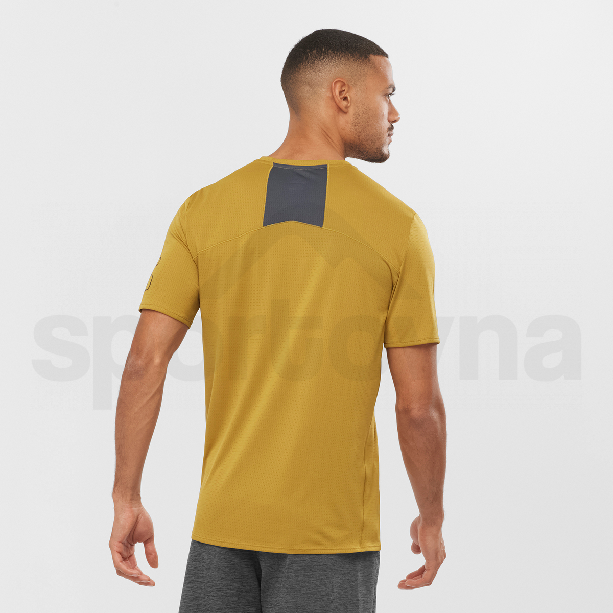 Tričko Salomon XA TRAIL TEE M - žlutá