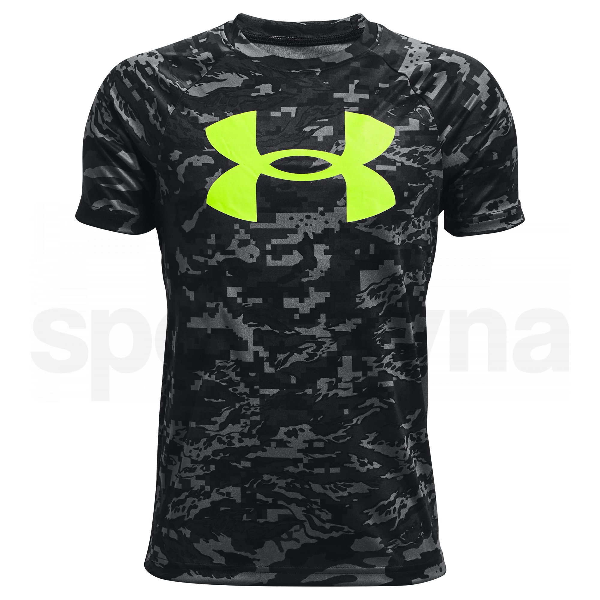 1363278-004_Under Armour Tech BL Printed SS YM