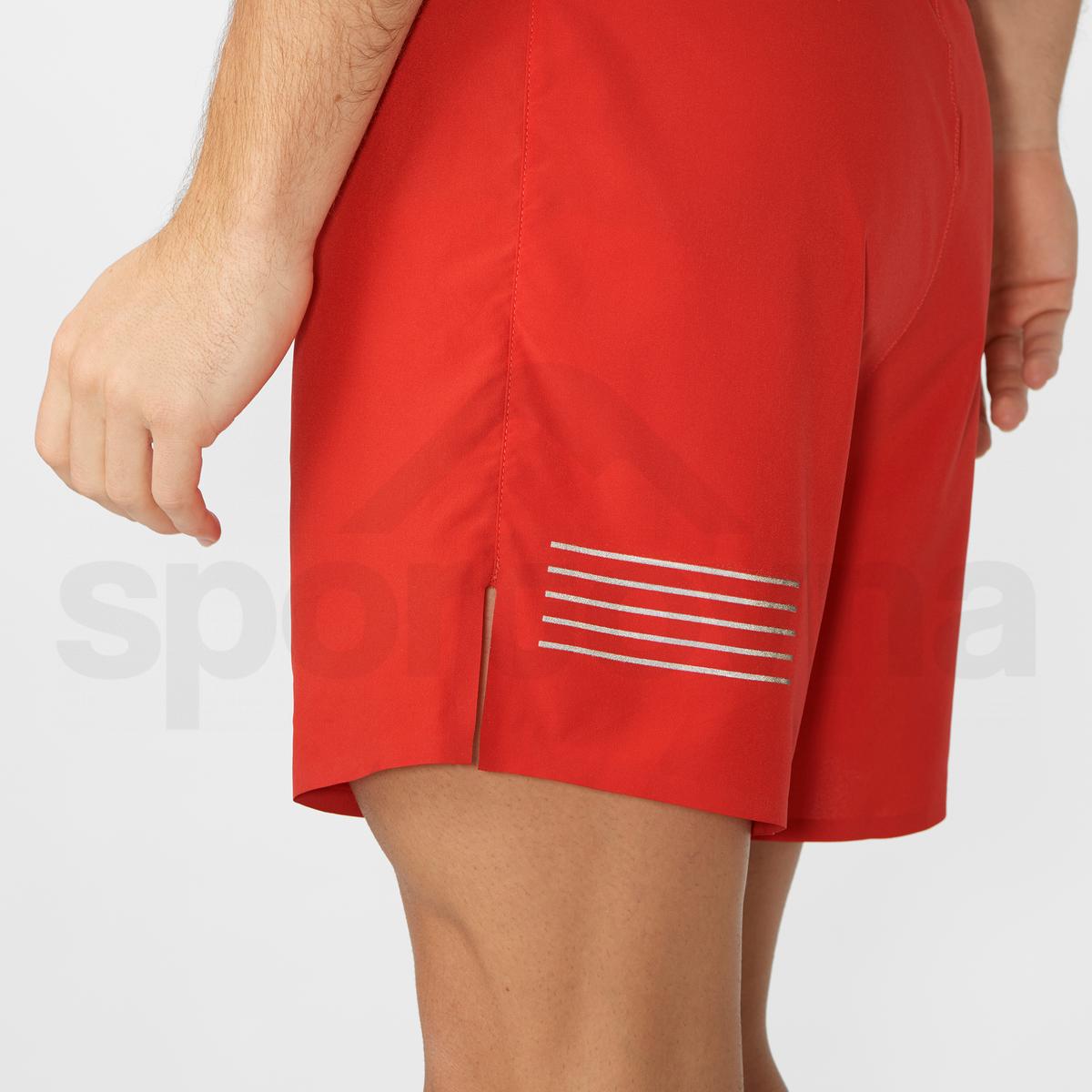 Kraťasy Salomon SENSE 5'' SHORT M - červená