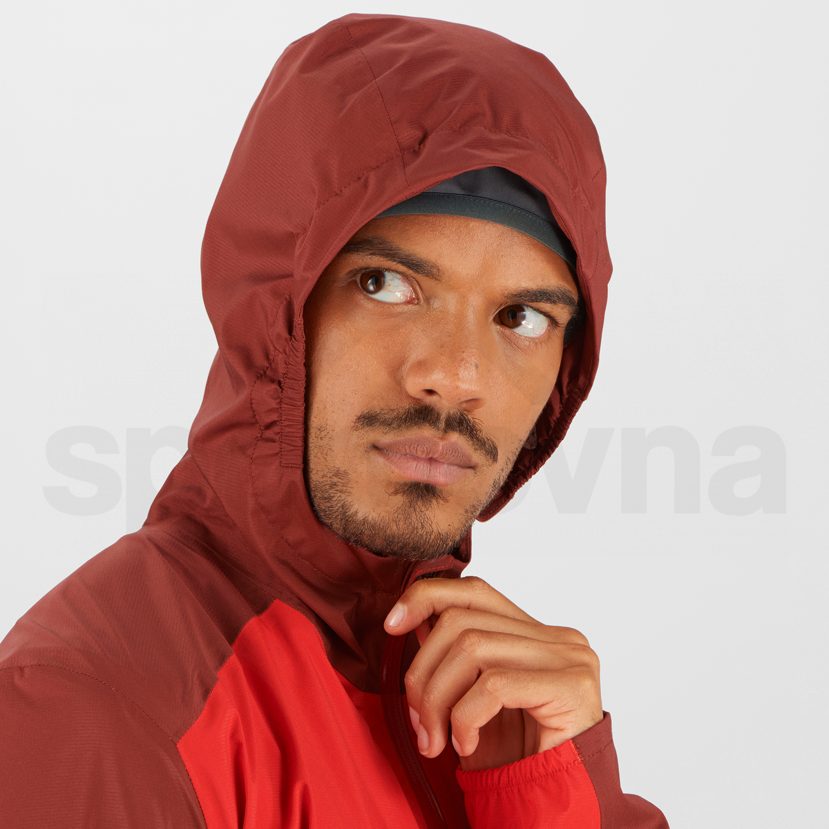 Bunda Salomon BONATTI 2.5L JACKET M - červená