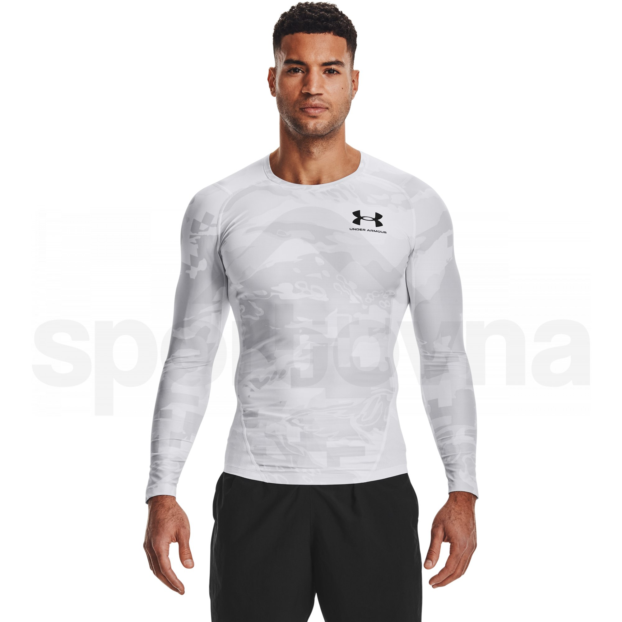 1361523-100_Under Armour HG IsoChill Comp Print LS M