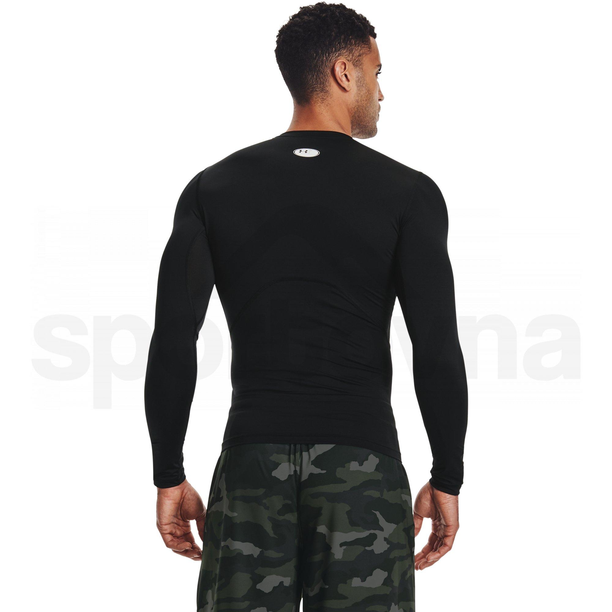 Tričko Under Armour HG Armour Comp LS M - černá