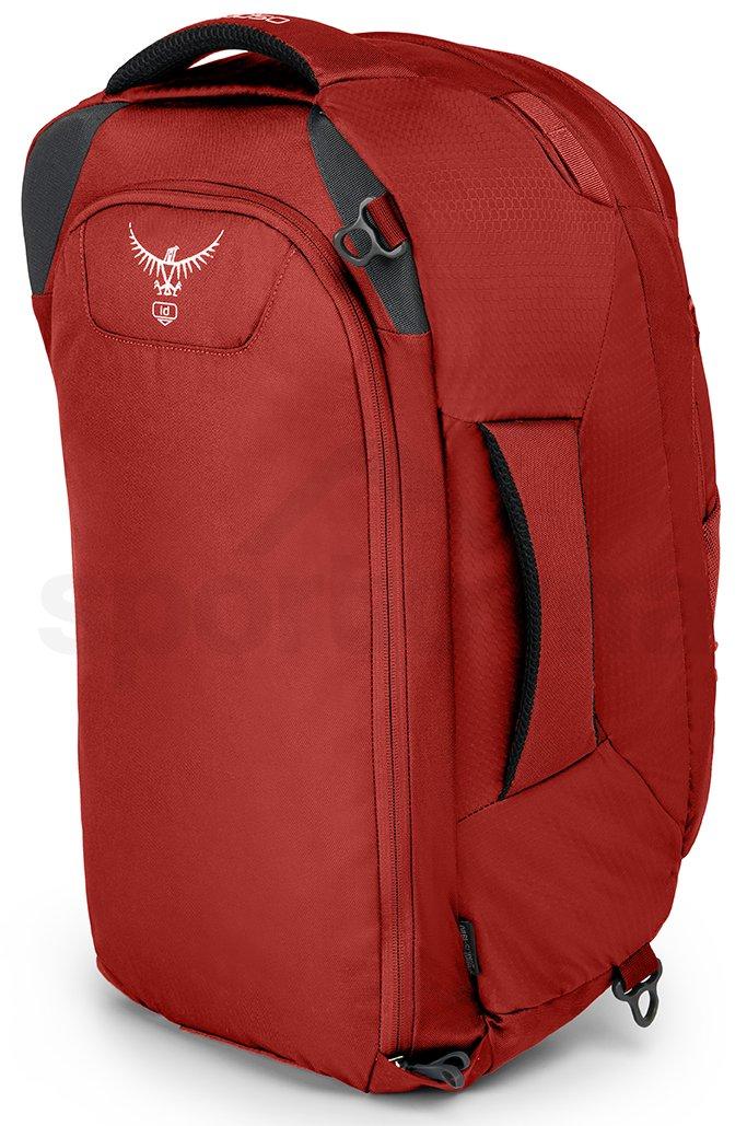 Cestovní batoh Osprey Farpoint 40 - červená