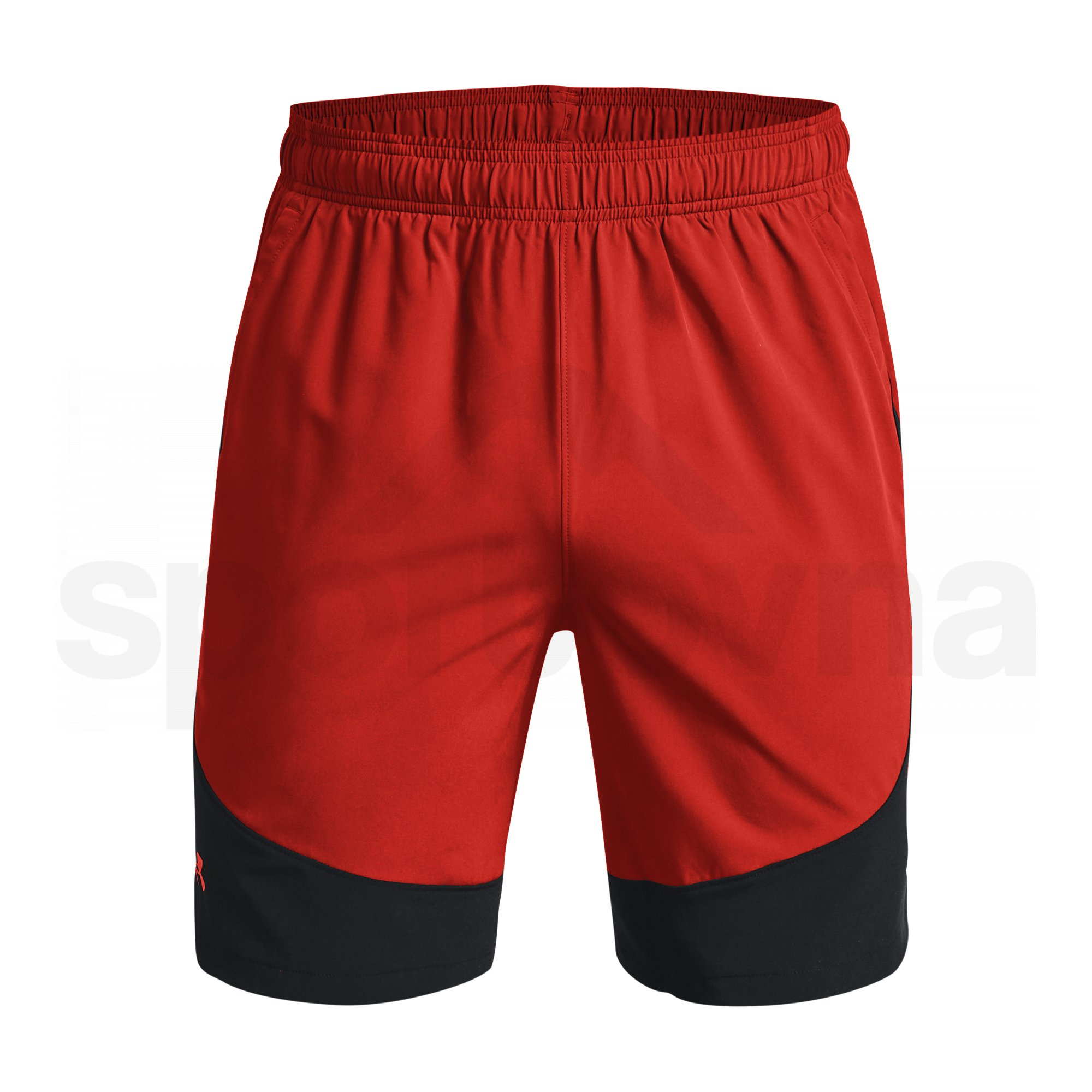 1366142-839_Under Armour HIIT Woven Colorblock Shorts