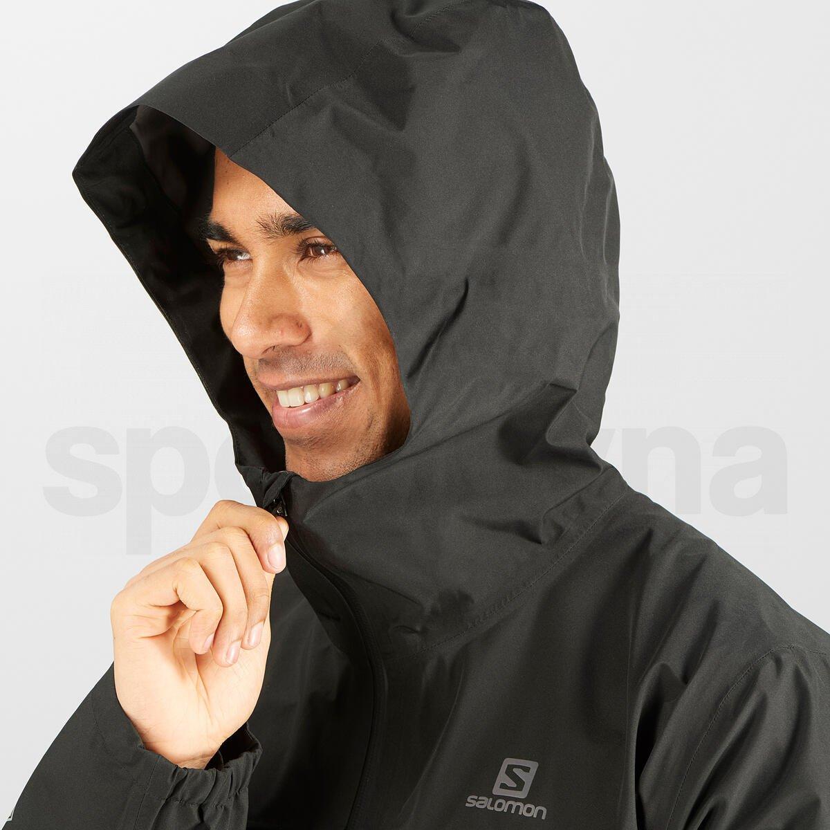 Bunda Salomon OUTLINE GTX® 2.5L JKT M - černá