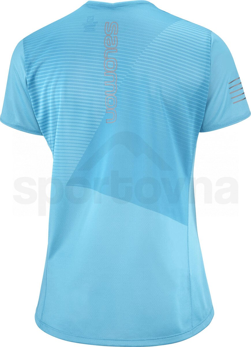 Tričko Salomon SENSE TEE W - modrá