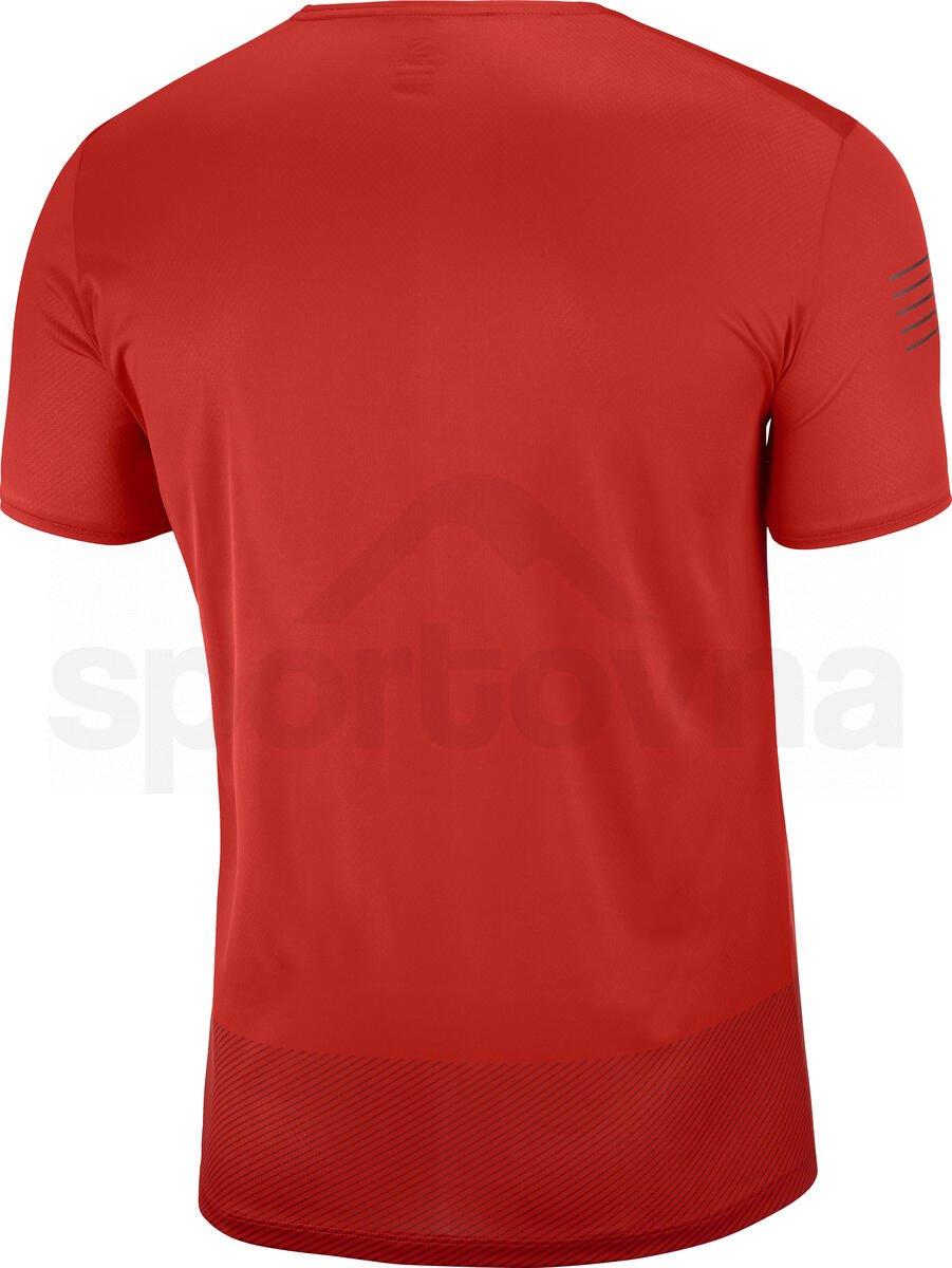 Tričko Salomon SENSE TEE M - červená