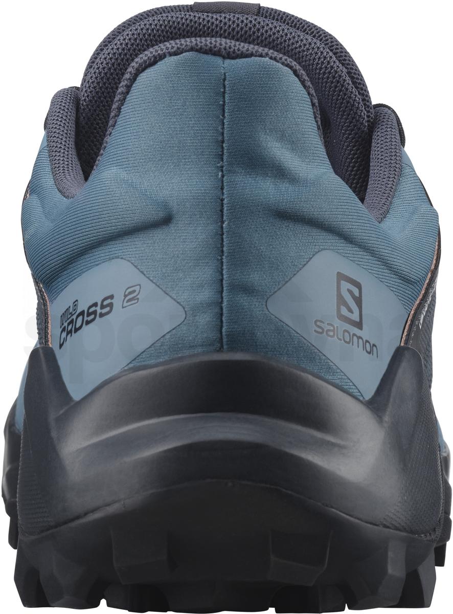 Obuv Salomon WILDCROSS 2 GTX W - modrá/černá/růžová