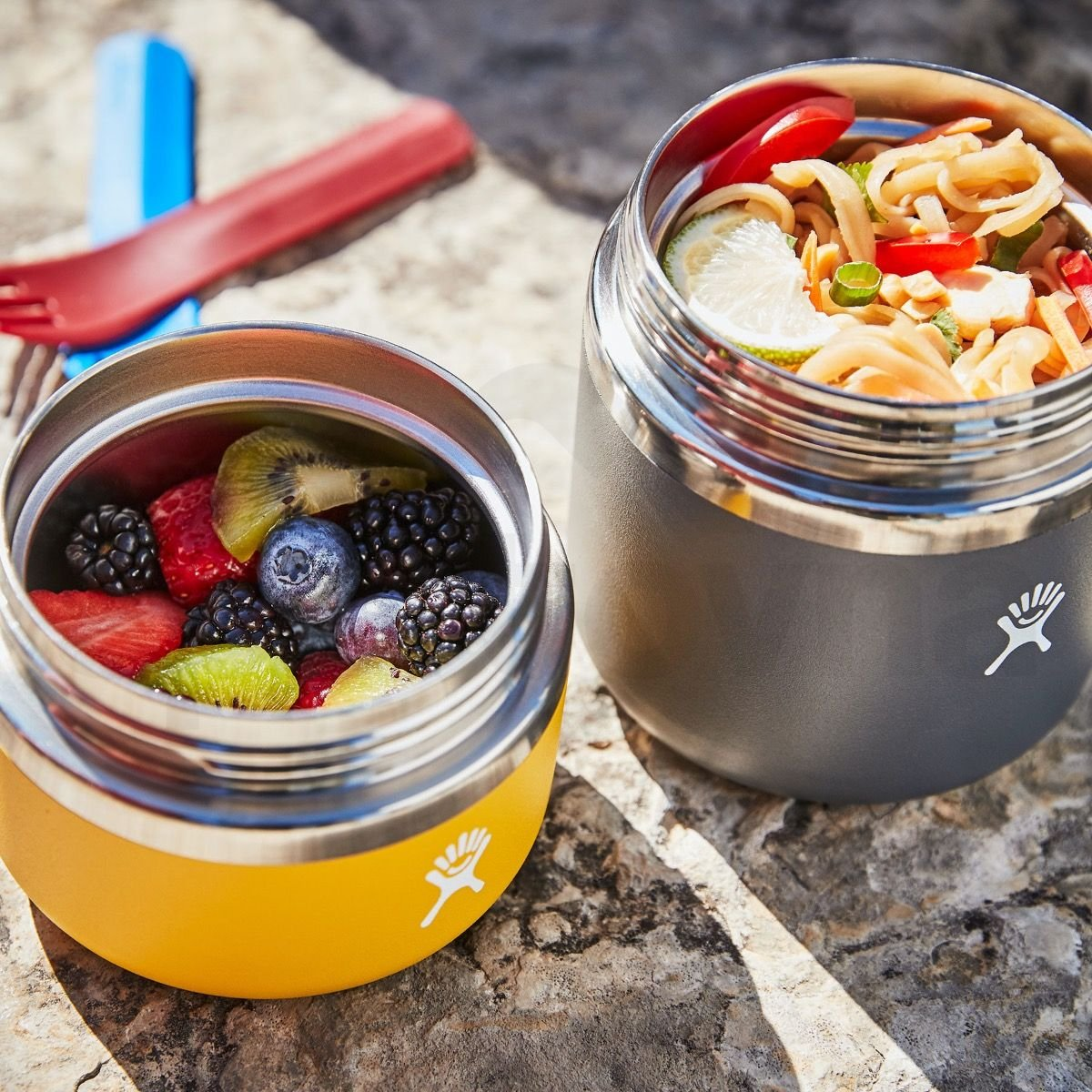 Termoska na jídlo Hydro Flask 20 oz Insulated Food Jar - žlutá