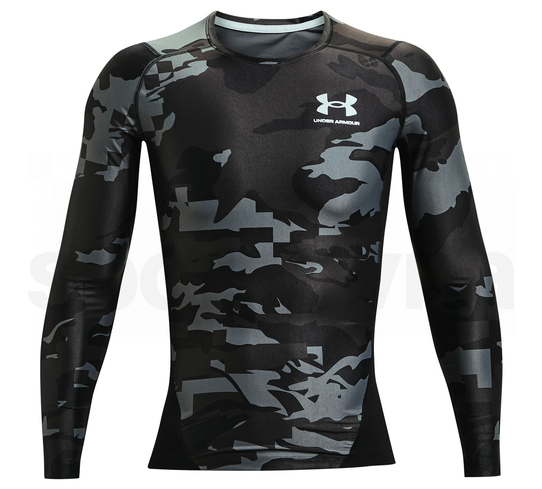 1361523-001_Under Armour HG IsoChill Comp Print LS