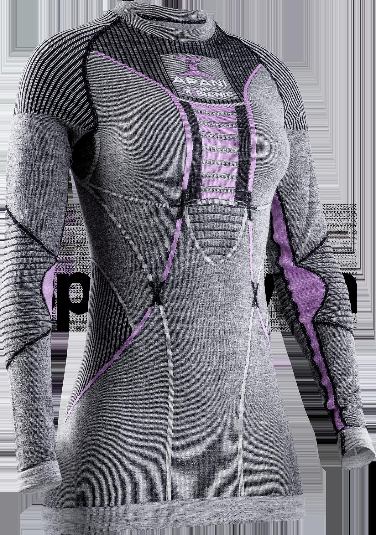 X-Bionic Apani 4.0 Merino Shirt Round Neck LG SL W