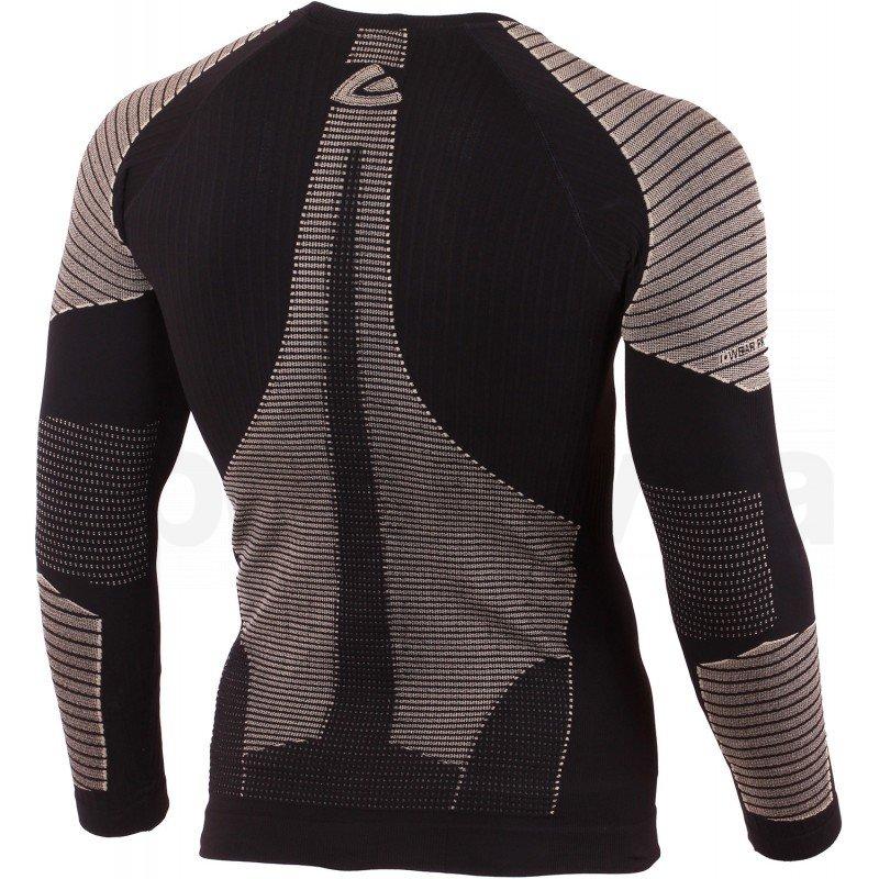 Tričko Lasting WEROLO M - černá