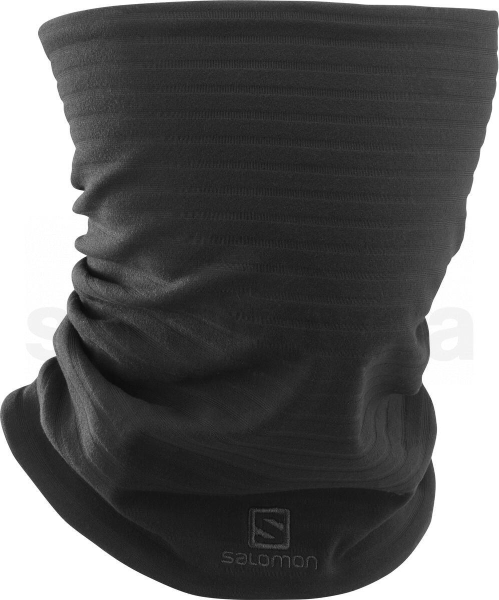 Nákrčník Salomon RS WARM TUBE - černá