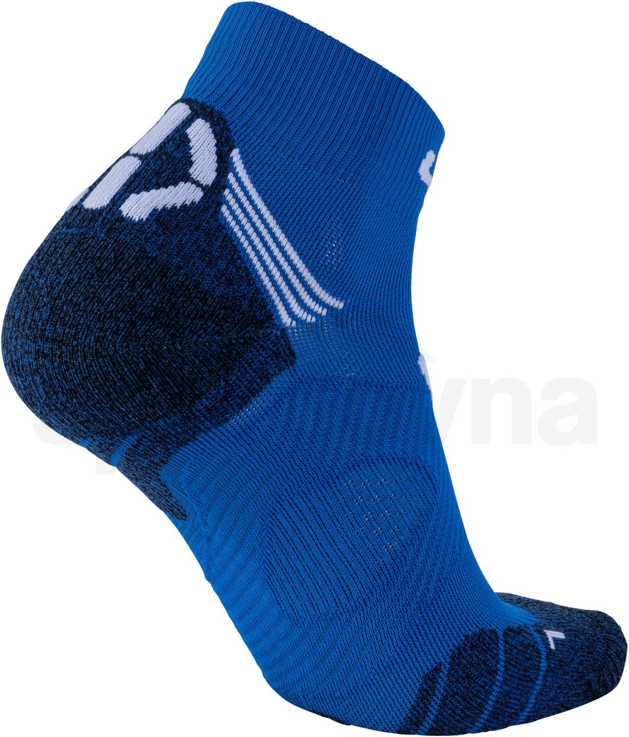 Ponožky UYN RUN SUPER FAST - modrá/bílá