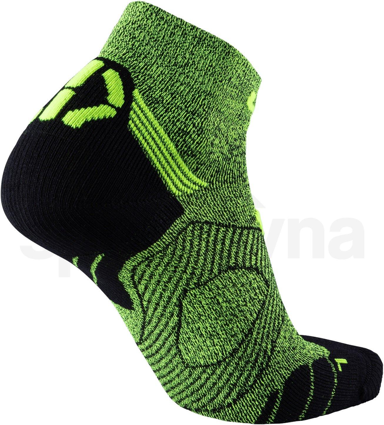Ponožky UYN RUN SUPER FAST - žlutá/černá