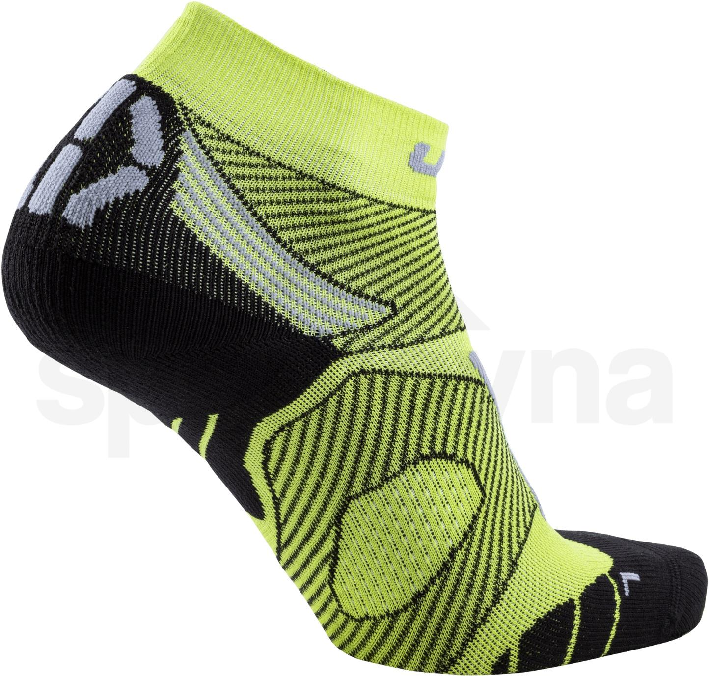 Ponožky UYN RUN MARATHON ZERO - žlutá/černá