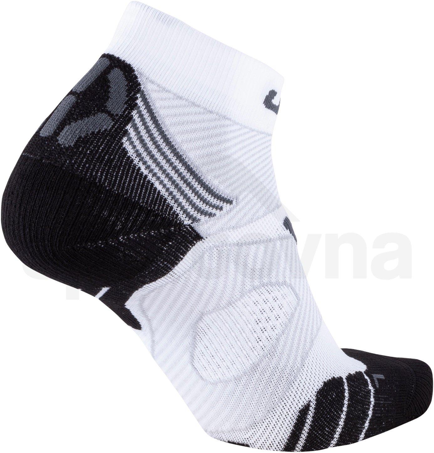 Ponožky UYN RUN MARATHON ZERO - bílá/šedá