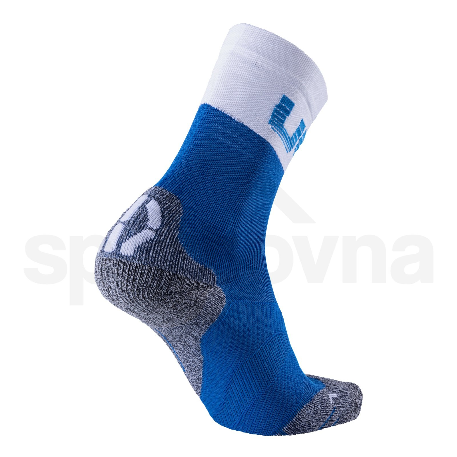 Ponožky UYN CYCLING LIGHT - modrá//bílá/šedá