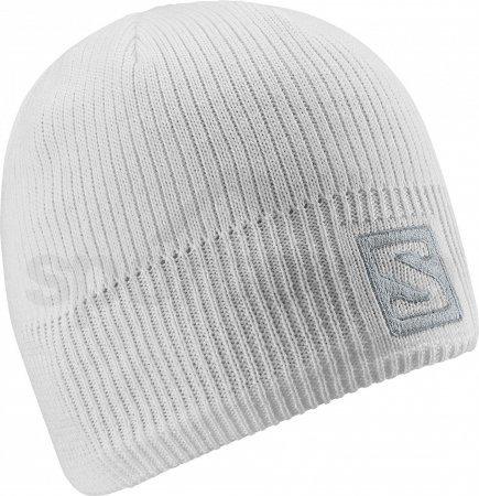 Salomon Logo Beanie white
